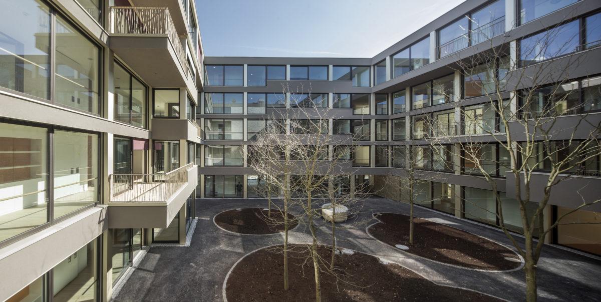 neubau alterszentrum burgfelderhof s b baumanagement ag. Black Bedroom Furniture Sets. Home Design Ideas